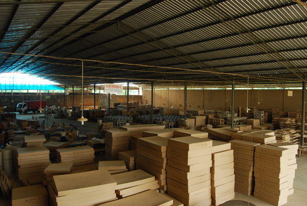 The factory of pt president furniture located at jepara indonesia by president furniture - Factory sofas sevilla ...