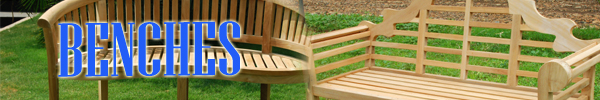 Teak Garden Furniture Benches