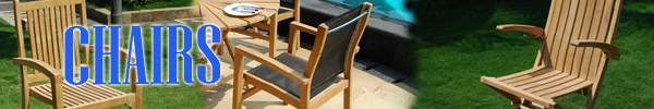 Teak Garden Furniture Chairs