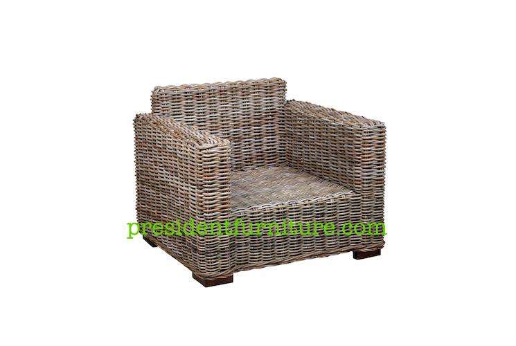 Rattan Natural Koobo Grey Furniture By President Furniture
