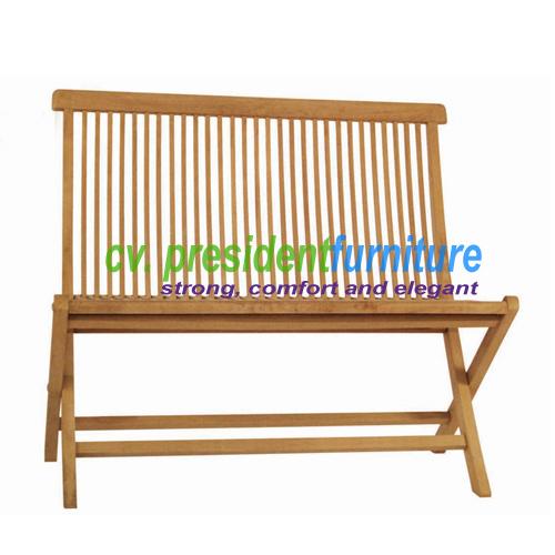 Teak Folding Bench Standart