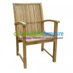 Teak Balero Arm Chair