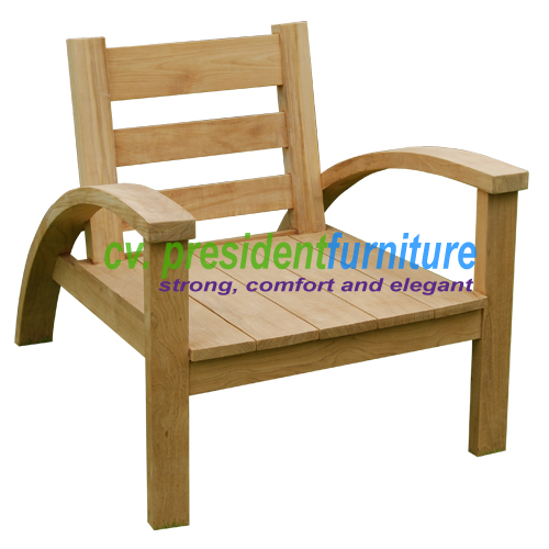 Teak Becak Arm Chair