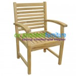 Teak Briana Dining Arm Chair