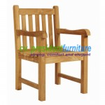 Teak Garden Arm Chair