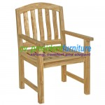 Teak Giverny Arm Chair