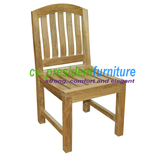 Teak Giverny Side Chair