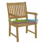 Teak Glost Arm Chair