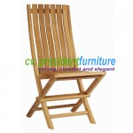 Teak Karen Folding Chair