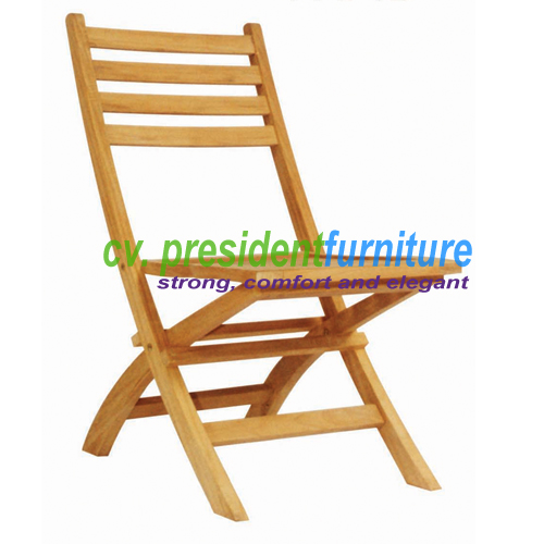 Teak Kosim Folding Chair