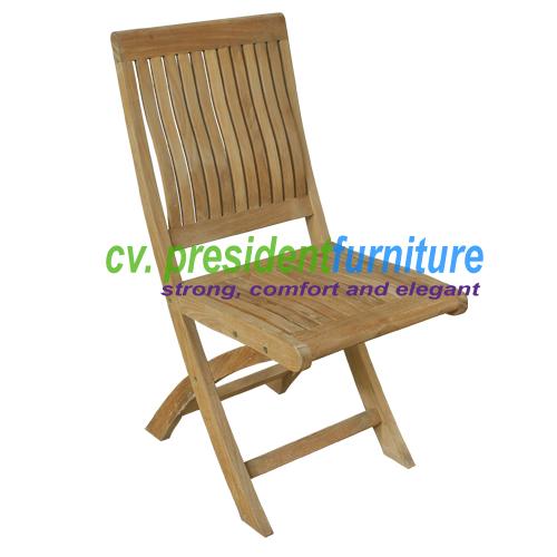 Teak Muria Folding Chair
