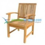 Teak New Arm Chair