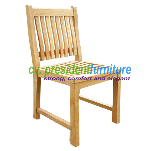 Teak New York Side Chair