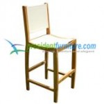 teak garden furniture Bahama Bar Batyline Chair