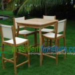 teak garden furniture Bahama Bar Set