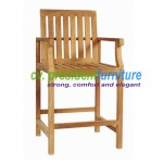 teak garden furniture Bar Chair