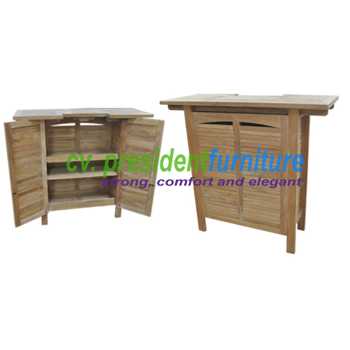 teak garden furniture Bar Table