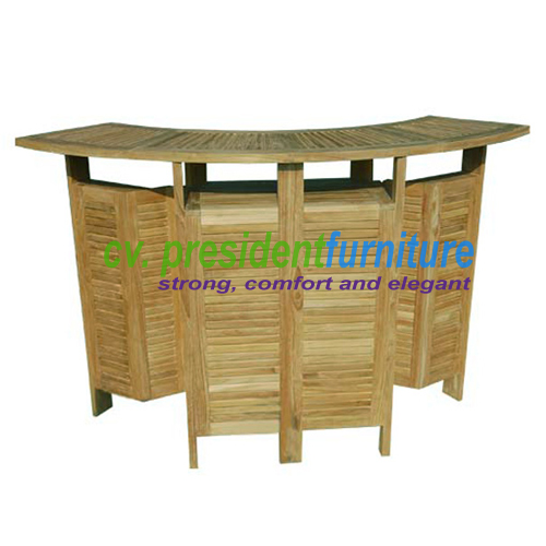teak garden furniture Butterfly Bar Table