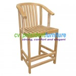 teak garden furniture Carol Bar Chair