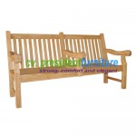 teak garden furniture Commercial Grade Bench