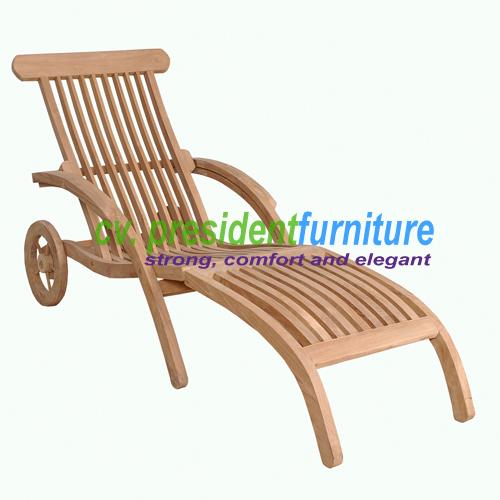 teak garden furniture Curve Steamer