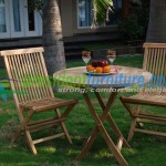 teak garden furniture Folding Set