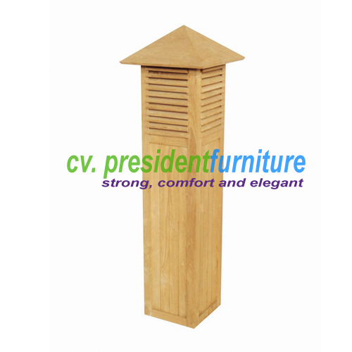 teak garden furniture Garden Lamp B