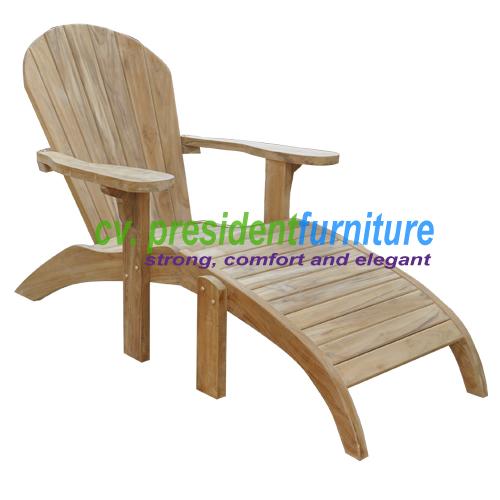 teak garden furniture Great Addirondack Chair