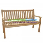 teak garden furniture Kingstone Bench 150
