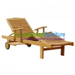 teak garden furniture Lounger