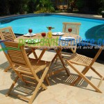 teak garden furniture Matahari Set 2