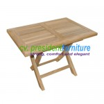 teak garden furniture Mini Recta Folding Table