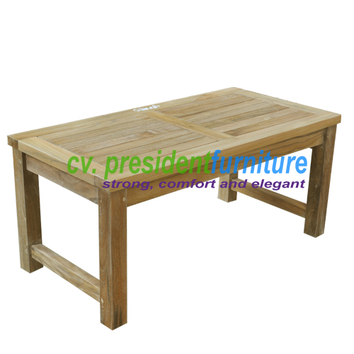 teak garden furniture Mini Recta Table 90