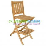 teak garden furniture New York Bar Chair
