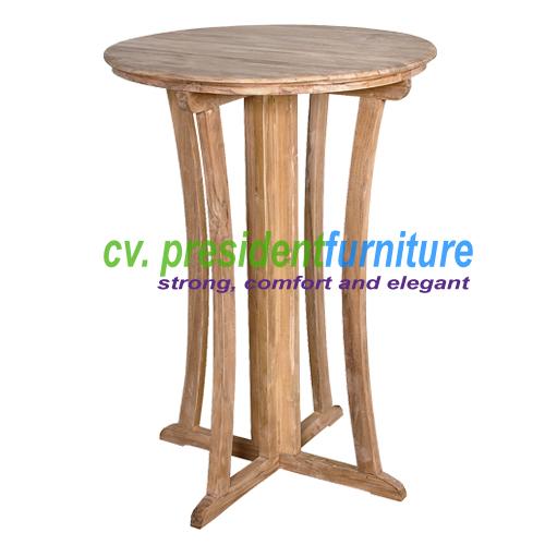 teak garden furniture New York Bar Table