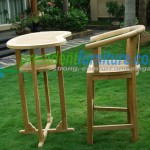 teak garden furniture Peanut Bar Set