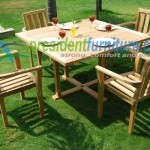 teak garden furniture Stacking Set