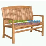 teak garden furniture Tenafly Bench 120