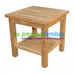 teak garden furniture Tundan Table 50X50X45