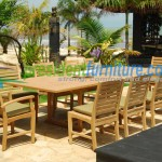 teak garden furniture patio 10 Seater Set