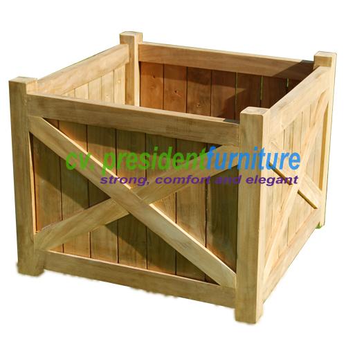 teak garden furniture Flower Box A