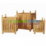 teak garden furniture Flower Box