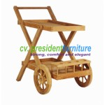 teak garden furniture Serving Trolley