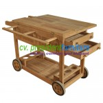 teak garden furniture Trolley