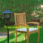 Cushion President Stacking Chair