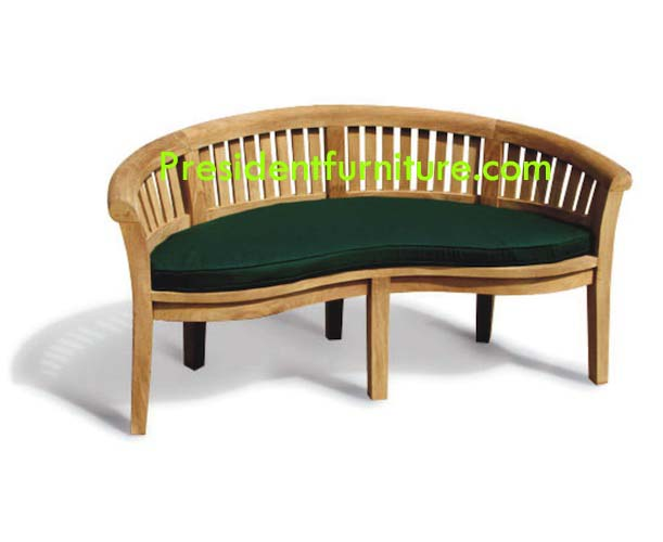 Cushion Peanut Bench 150