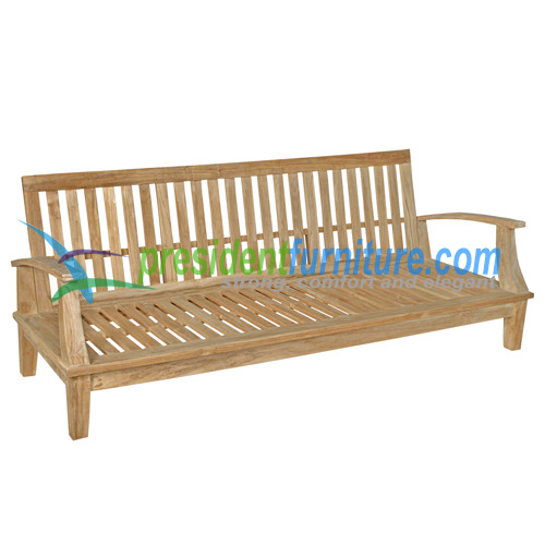 teak garden furniture Briana Sofa