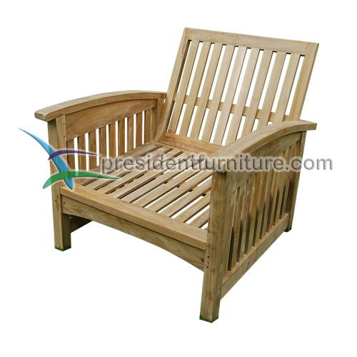teak garden furniture Carson Chair