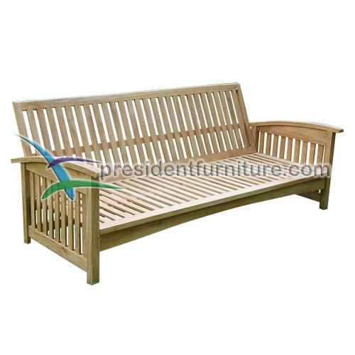 teak garden furnitture Carson Deep Seat Sofa