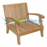 teak garden furniture Castle Chair